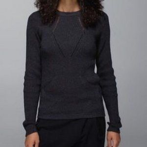 Lululemon Sweater the Better Front Pocket Sweater